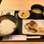 128629599 - 銀ダラ味噌定食