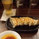 つけ麺 松ふじ - 餃子