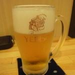 つくし - 生ビール