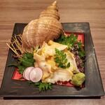 酒彩 粋 - つぶ貝の刺身 950円