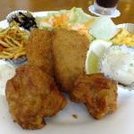ビストロ624 - 「とりのから揚げと白身魚のフライ」Up