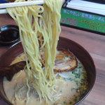 Ramensennokaze - 麺持ち上げ