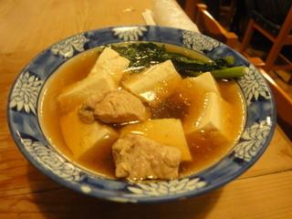 大衆割烹 三州屋 飯田橋店 - 鶏豆腐