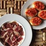 EL-SOL - 料理写真:イベリコ豚の生ハムとパン コン トマテ