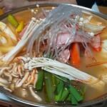金剛山 - 塩味の鍋