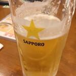 蓮香園 - お安いビール
