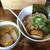 啜磨専科 - ザ・しおつけ麺(900円)+大盛(50円)+味付玉子(100円)