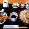 越後屋 - 料理写真:天丼十割そばセット1300円