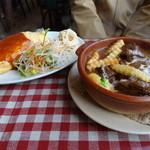洋食の太陽 - ビーフシチュー[定食)
