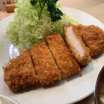 128653136 - ロースカツ定食 ¥1,200