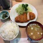 128653164 - ロースカツ定食 ¥1,200