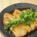 酒 揚げ 魚すし 大漁 - とろける油淋鶏
