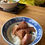 ラーメン河 - マグロ丼も侮れません!(๑>◡<๑)♡おいしい!
