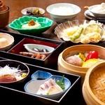 彩岳館 - 2100円ランチ 湯葉と地野菜のせいろ御膳