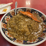 中華料理 龍鳳酒家 - 渡り蟹のあんかけ炒飯