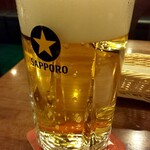 みゅんへん - ドリンク写真:生ビール(大)