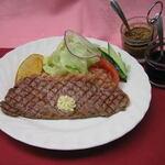 洋食のみかさ - 料理写真:ステーキランチ¥1,250