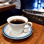 128662455 - 【悪魔のカルボナーラセット@1,300円】ホットコーヒー