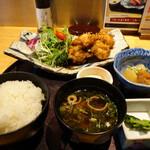 128666804 - 日南鶏のチキン南蛮タルタル膳(1400円)