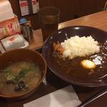 Sukiya - おんたまカレー&しじみ汁