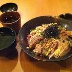 12867021 - 炙り海鮮丼♪