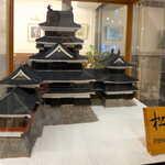 128677962 - 地域のシンボル・松本城。気合あふれるマサムラさん、砂糖で築城してしまいました!