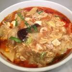 まんみ - 酢辣湯麺 (スーラータンメン)