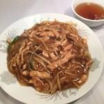 まんみ - 肉絲炒麺 (豚肉細切焼きそば)