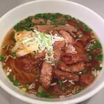 まんみ - 炸腸湯麺 (ホルモンラーメン)