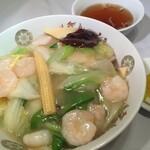 まんみ - 蝦仁会飯 (えびうま煮かけご飯)