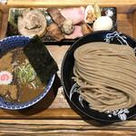 中華蕎麦 とみ田 - 「つけめん 並」1100円+「特製全部乗せトッピング」850円