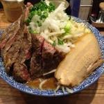 12868837 - カレーらーめん+牛ステーキ