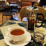 128682325 - 紅茶もサーバーでしっかり2杯分。うれしい♡
