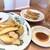 日高屋 - 料理写真:ポテトフライと3個餃子