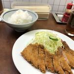 128684041 - トンカツ定食