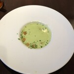 Les pif et dodine - えんどう豆のクリームスープ