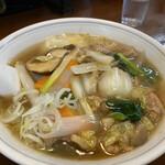 鳳春 - 肉うま煮そば 1,080円