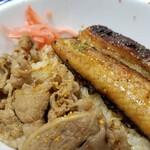 吉野家 - 料理写真:牛鰻丼。(笑)