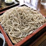生蕎麦 上総屋 - 料理写真:もりそば 大盛り600円