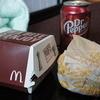 マクドナルド - 料理写真:ハンバーガーにはドクペ!(違