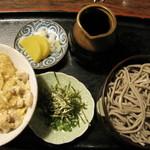 お食事処そのやま - 出雲蕎麦と親子丼のセット 10.08.23.