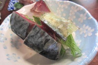 大安 - さばの棒寿司¥380