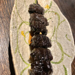 地鶏割烹 稲垣 - 背肝(の筈w