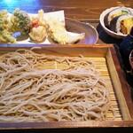 農村料理の店 もくもく - 天ぷらとそば膳