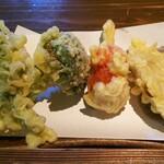 農村料理の店 もくもく - 天ぷら