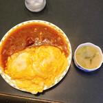 128712650 - サラサラカレーと美味しい味噌汁