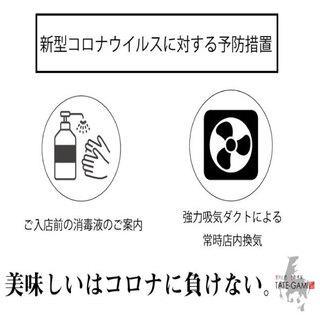 新型コロナウイルスに対する予防措置