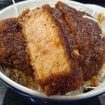田村食堂 - 田村名物ソースかつ丼・かつの厚みは3センチオーバー