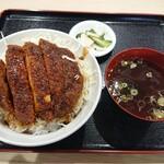 田村食堂 - 田村名物ソースかつ丼(1,500円)