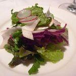 博多和田門 - サラダ(共通)・・普通のサラダです。